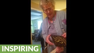 Grandma with Alzheimer's tries to remember her age