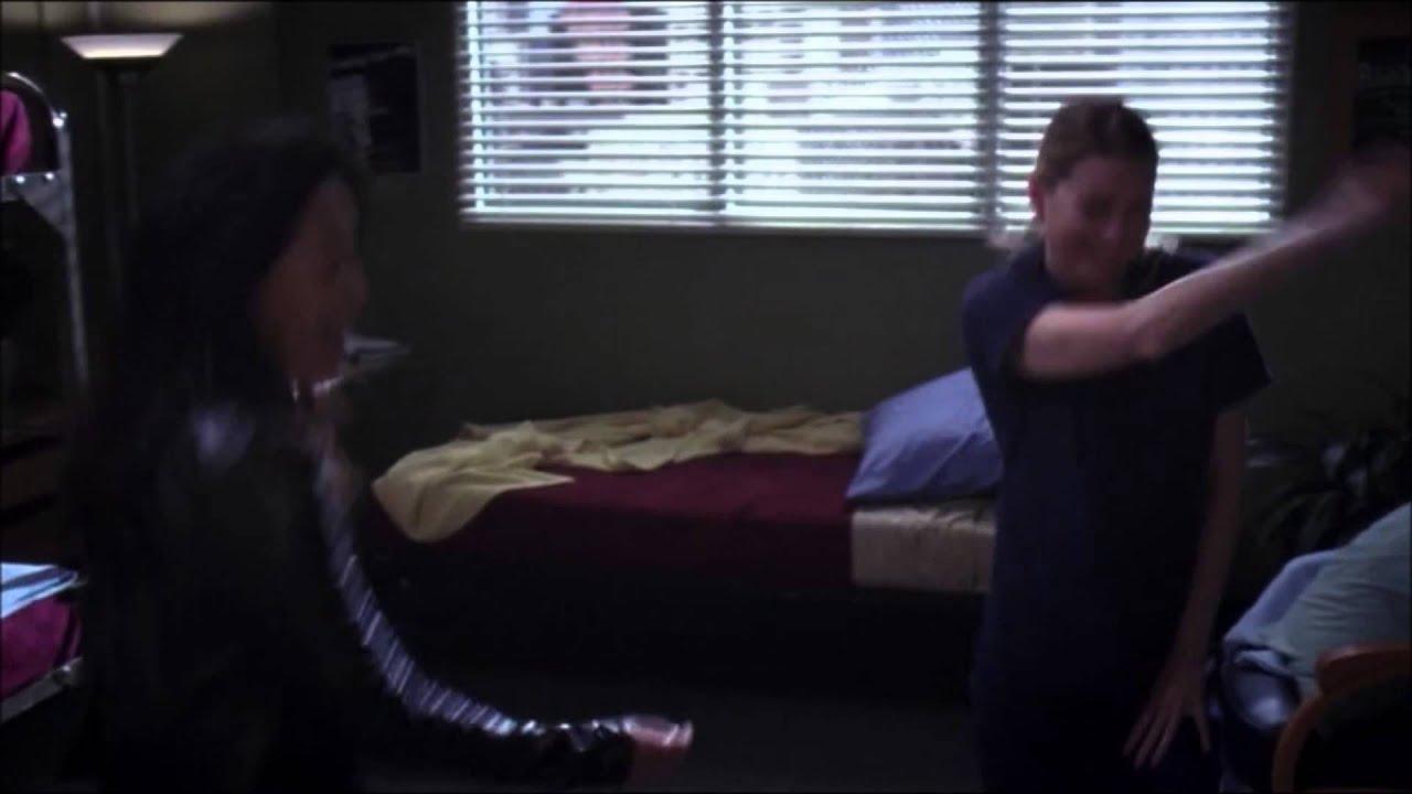 Cristina And Meredith Goodbye Dance Greys Anatomy Youtube