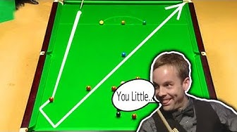 FUNNY Moments In Snooker - Carter Gets Angry! ᴴᴰ