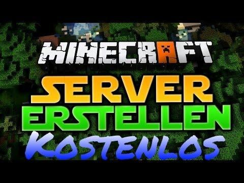 KOSTENLOS Ein MCPE Server Erstellen B YouTube - Minecraft pe server erstellen auf pc