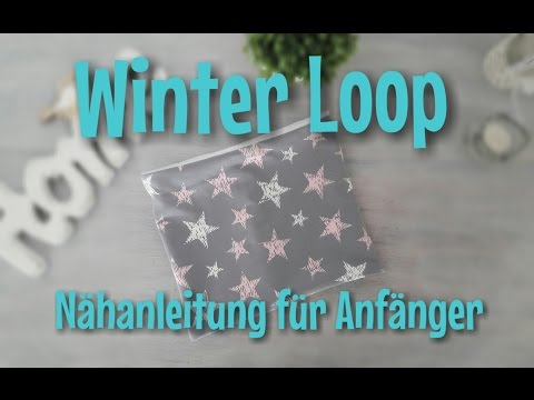 Nähen OHNE Schnittmuser – Loop  Nähanleitung – Tina