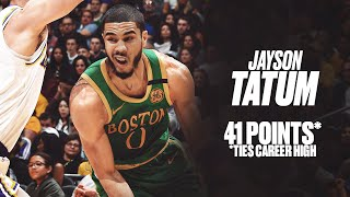 jayson-tatum-18-pts-2nd-quarter-lakers-ties-career-high-41-points-game