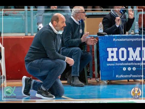 Post gara Alpha Pharma Bisceglie-Taranto: coach Gigi Marinelli