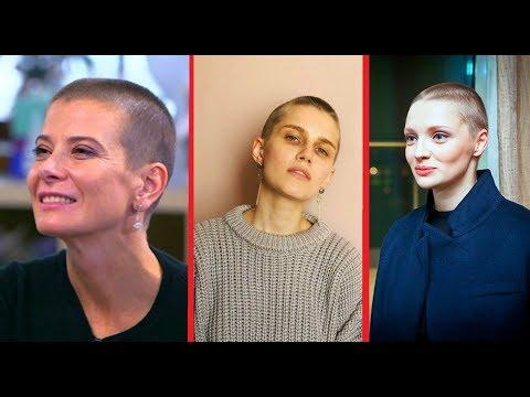 Наши актрисы, которые постриглись налысо ради роли!