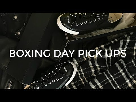 BOXING DAY PICK UPS | MONTHLY Q&A | Men's Fashion | Daniel Simmons