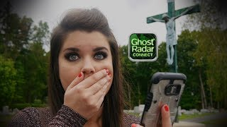 Ghost Radar Session in Cemetery!!