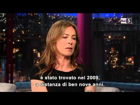 Kathryn Bigelow @ David Letterman Show 9/01/13 SUB ITA