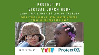 Virtual Lunch Hour - June 18th with Young Voices for the Planet