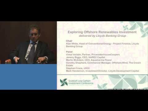 Exploring Offshore Renewables Investment