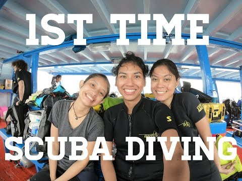 1st TIME SCUBA DIVING IN KOH TAO | พี่กะน้อง (Tidtee Ng)