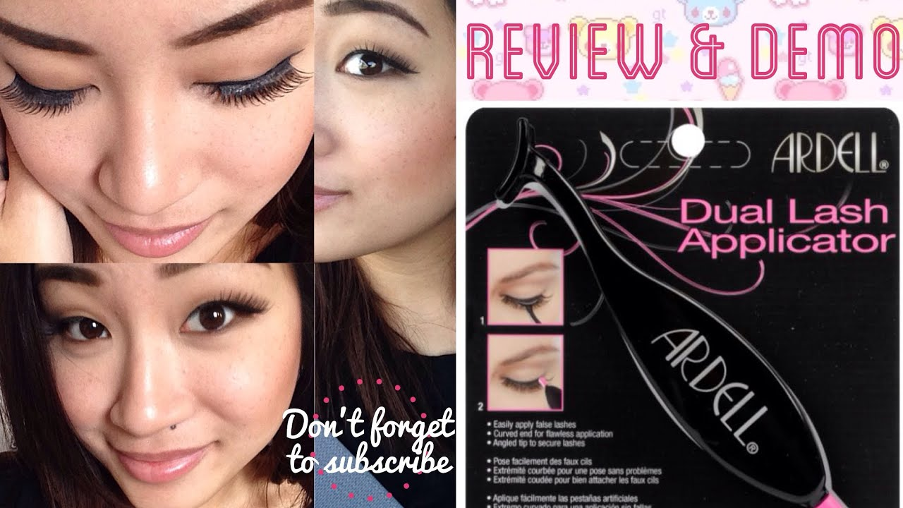 How To Use Ardell Dual Lash Applicator First Impressions Demo