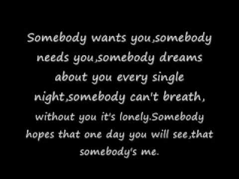 Enrique Iglesias Somebody's Me Lyrics