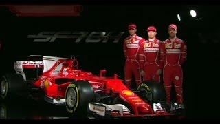 Launch of the 2017 Ferrari F1 Car - The SF70H