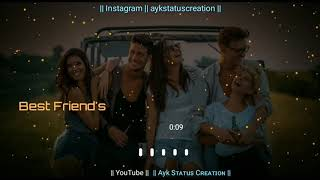 Happy Friendship Day | Friendship day Special WhatsApp status video 2019 | 4Agust | tere mere Dosti