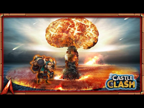 Castle Clash Mino BOMB! Guild Wars!