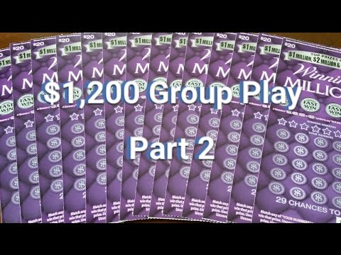 $1,200 Winning Millions Group Play - Part 2 - Who Got a Fast Win?