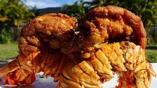 HOW TO MAKE FRIED LOBSTER TAILS| Red Lobster's Leaked Recipe shh