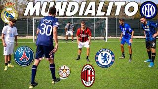 Champions League MUNDIALITO FOOTBALL CHALLENGE con YouTube ITALIA w Elites