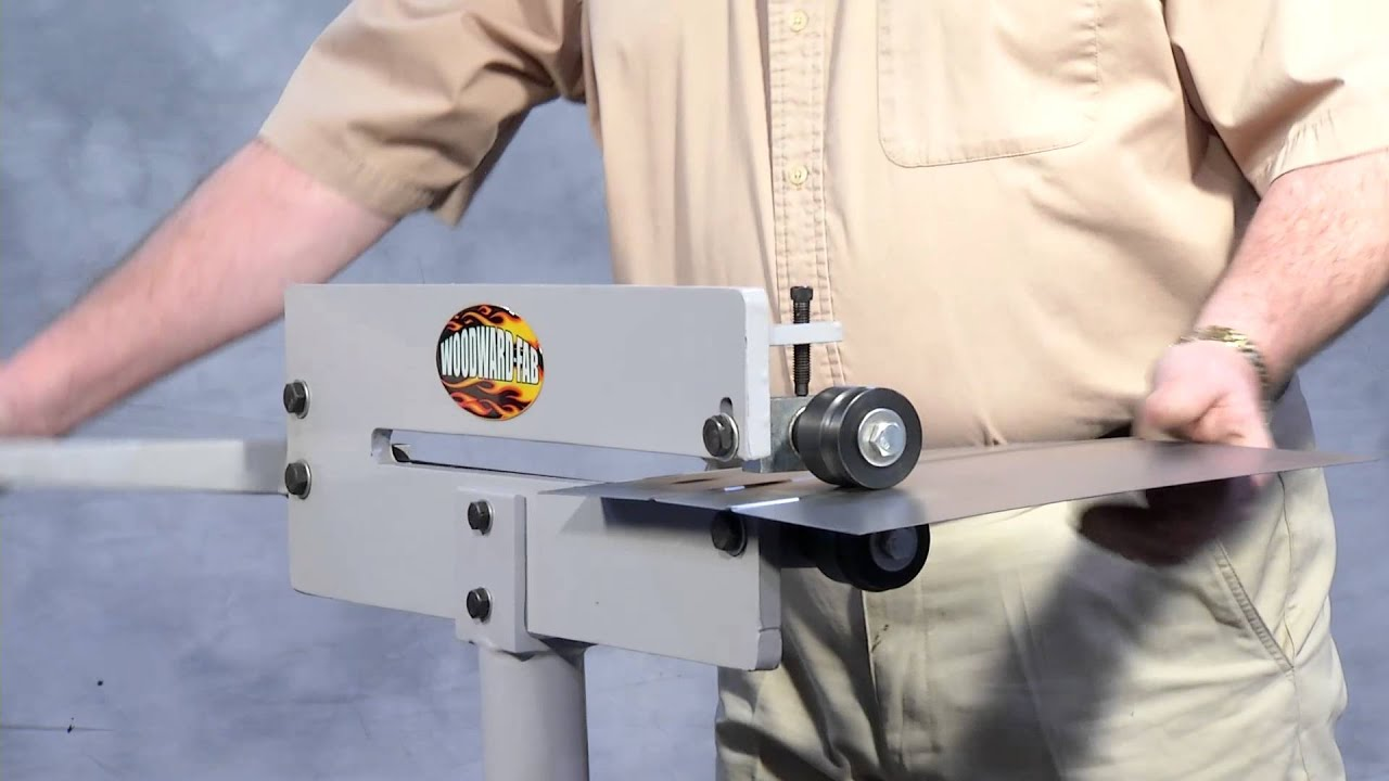 Compact Bead Roller For Metal Fabrication Wfbr6 Youtube