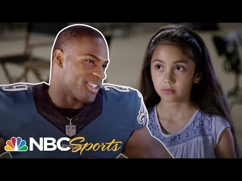 10 Year Old Stumps NFL Stars | NFL | NBC Sports