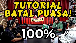 TUTORIAL BATALIN PUASA 🤣💯% - RIGEN GJLS- Deddy Corbuzier Podcast ❌