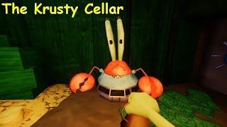 The Krusty Cellar Full game & Ending (A Spongebob horror game) Video