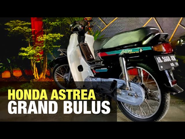 ANTIK dan LANGKA | HONDA ASTREA GRAND | 1992