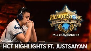 HCT Fall Championship ft. Justsaiyan | Hearthstone | [The Boomsday Project]