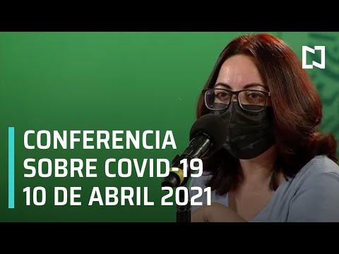 Informe diario Covid-19 En Vivo - 10 de Abril 2021