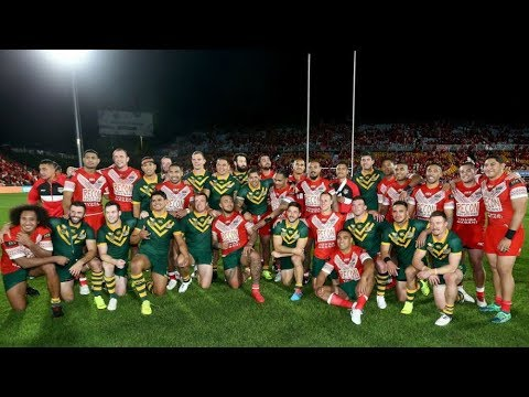 Test Match Highlights: Australia v Tonga