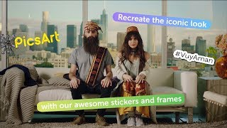 #VuyAman! Sirusho + Sebu of Capital Cities teamed up with PicsArt
