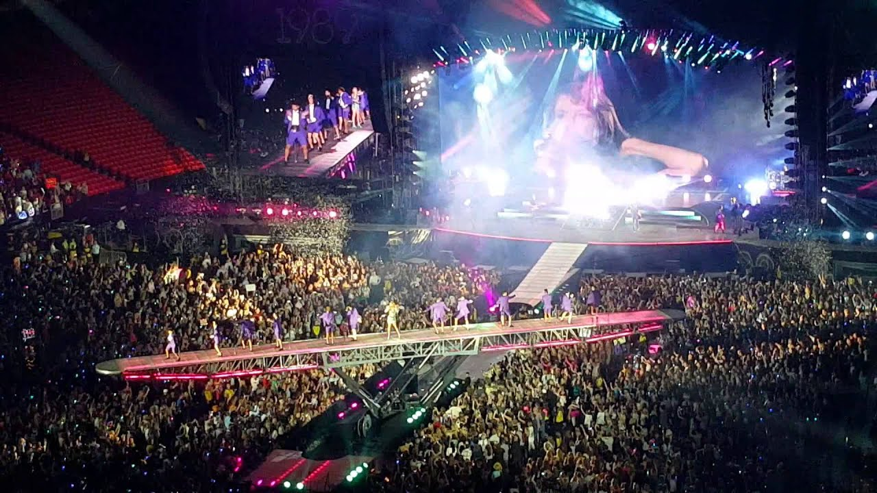 Taylor Swift 1989 World Tour At The Georgia Dome Youtube