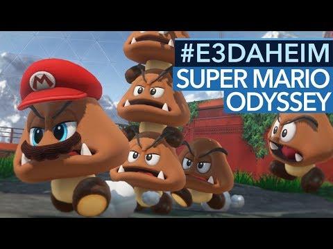 Super Mario Odyssey - Nintendo liefert das Spiel der E3-Messe