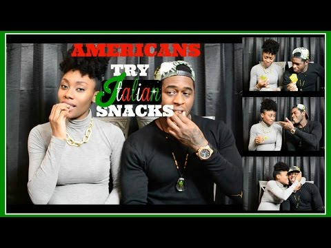 Americans Try Italian Snacks