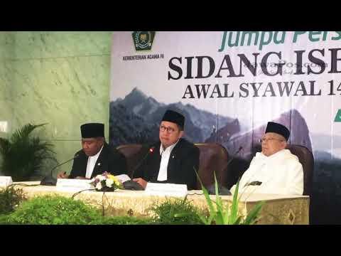 Sidang Isbat 1 Syawal 1439 Hijriah