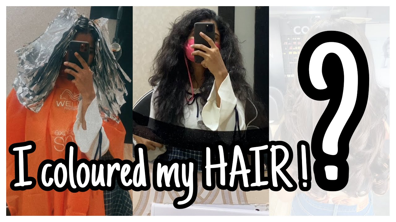 I Coloured my Hair | I paid 14,000/- ? | Was it a hit or Flop?! | nayalooks | Navya Varma