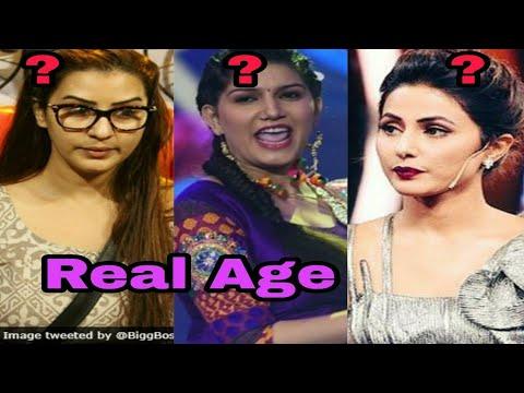 Real Age Of Bigg Boss 11 Contestants Bigg Boss 11 Shilpa Shinde