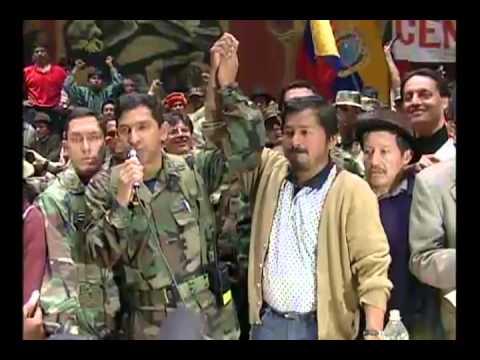El día que cayó Mahuad y subió Gutierrez, 21 DE ENERO DEL 2000