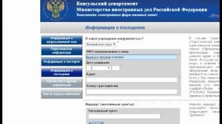 Как правильно заполнить электронную форму российской визовой анкеты