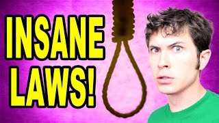 7 INSANE LAWS IN SINGAPORE!!
