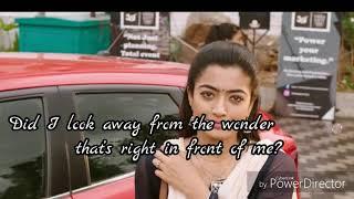 Yenti yenti song English meaning whatsapp status from geetha govindam telugu movie vijay devarugonda