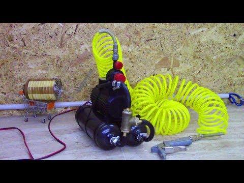 Come costruire un mini compressore da banco