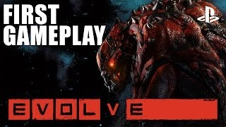 Evolve on PS4: New PlayStation 4 gameplay and interview