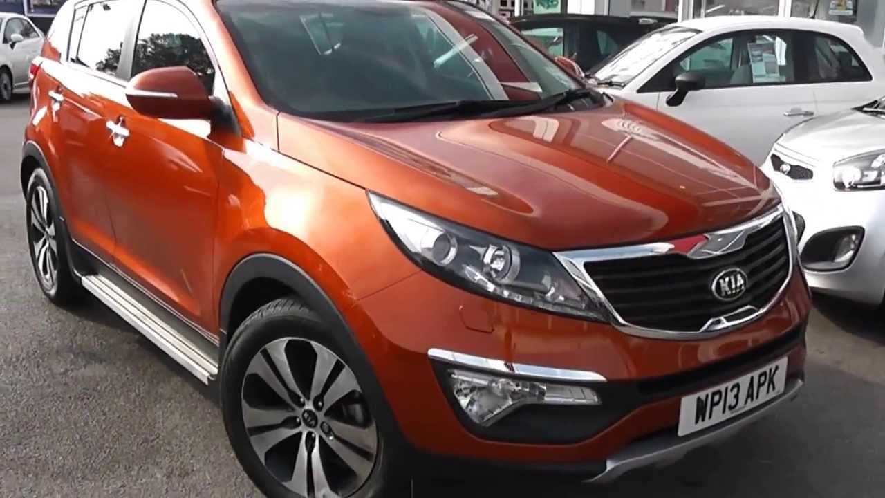Used Car Kia Sportage 3 Eco Techno Orange Wp13apk