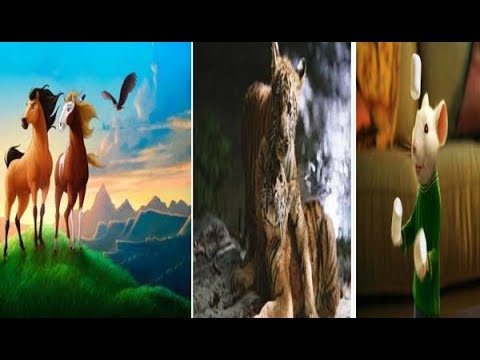 Classic Animal Movies with Moral Lessons - Top 10 !!