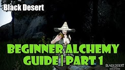 [Black Desert] Beginner Alchemy Guide Part 1 | Deciding What to Make for EXP, Money, and Profit!