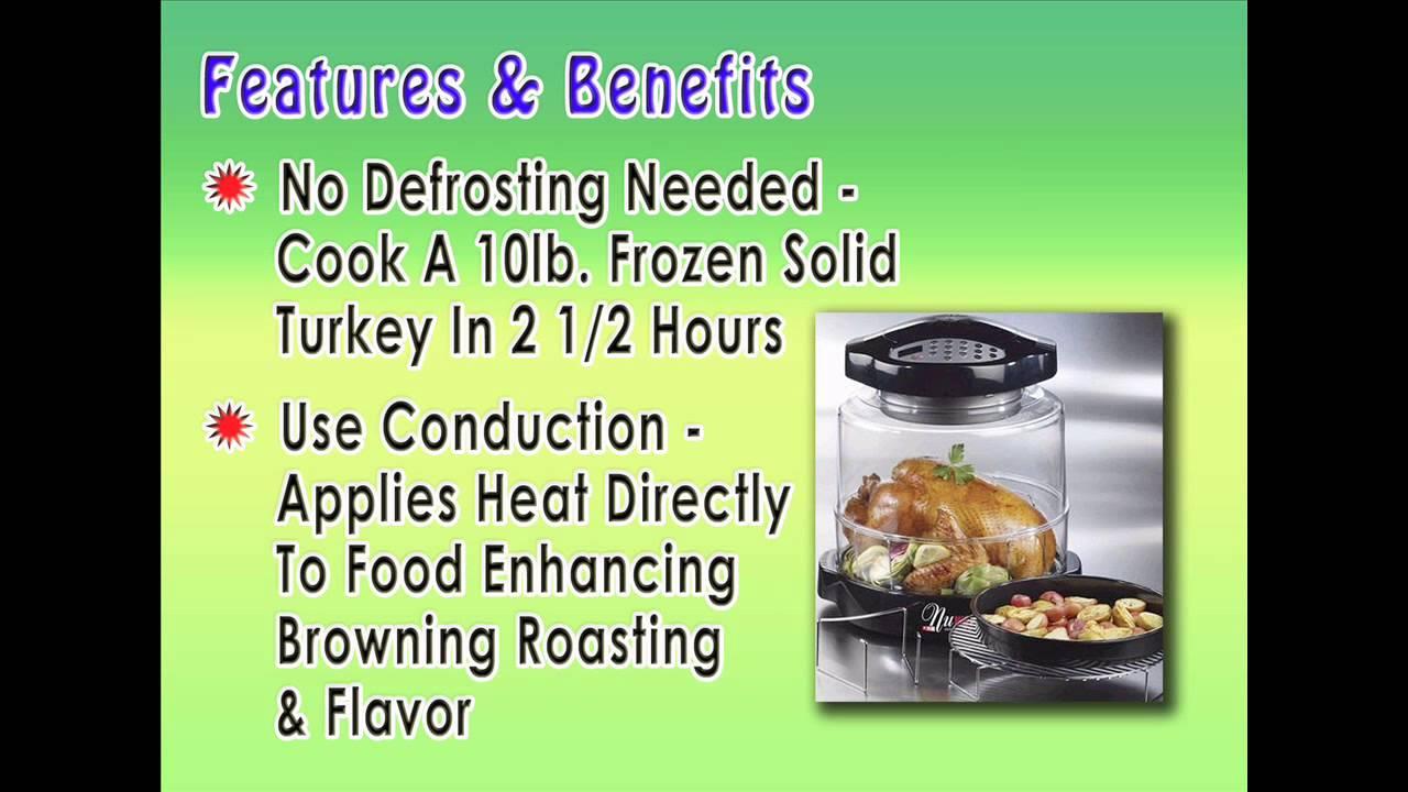 best infrared oven reviews nuwave oven pro infrared digital black extender youtube