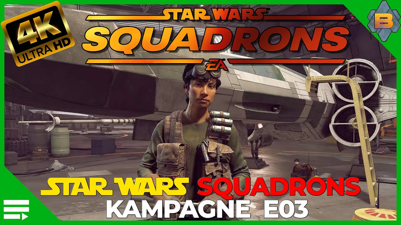 Star Wars Squadrons deutsch 4K Ultra  (Episode 3) HOTAS Gameplay