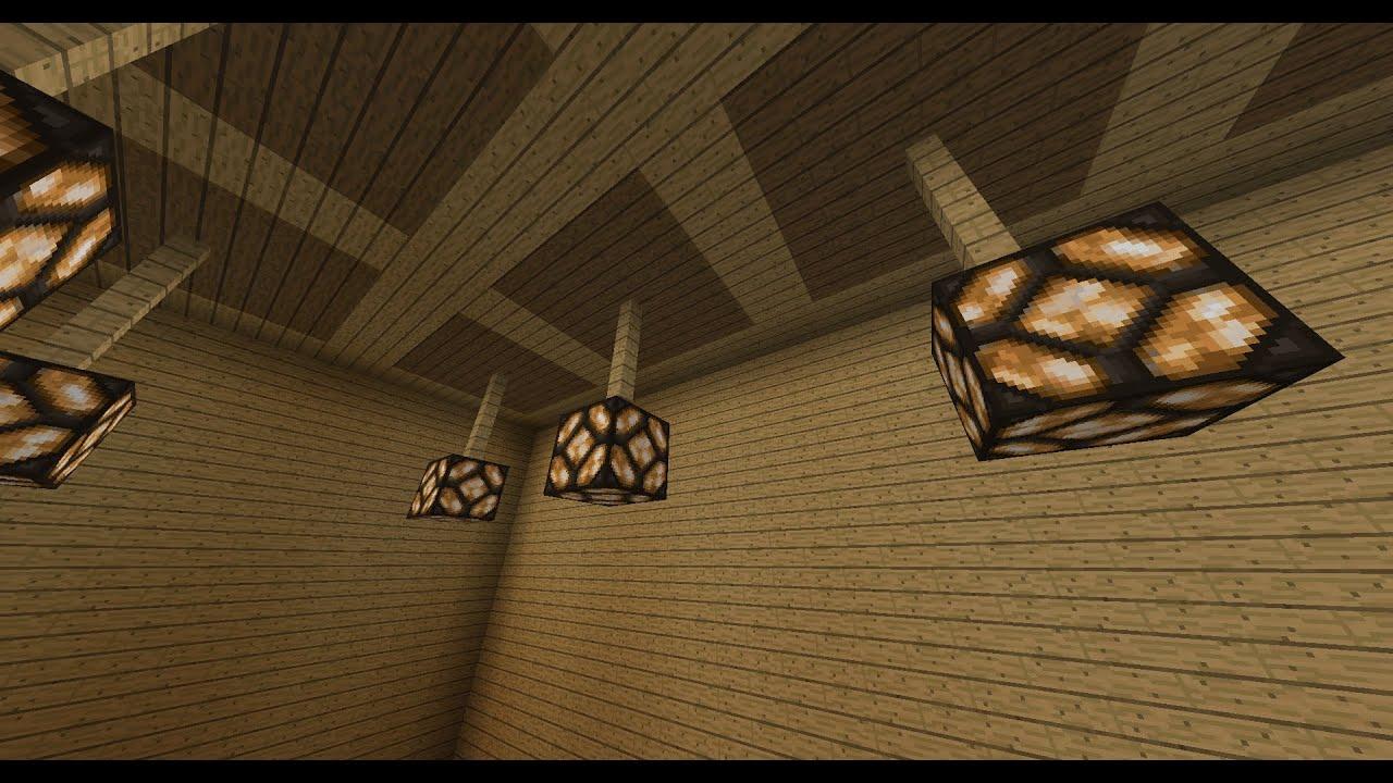 Minecraft Glowstone Ceiling Light Theteenline Org