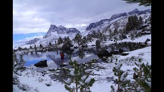 John Muir Trail from Happy Isles to Mount Whitney